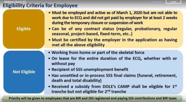 Eligible - Employee
