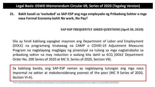 19 - DSWD Legal Basis for Rule C