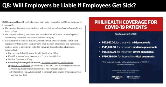 SSS and Philhealth