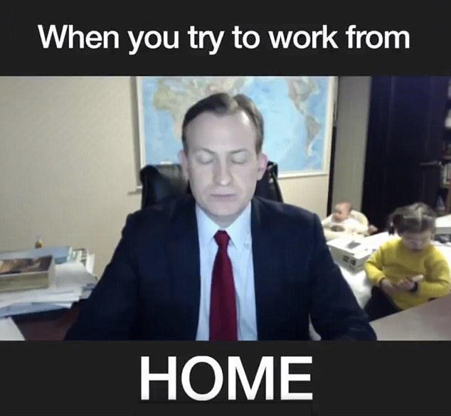 work from home in suit
