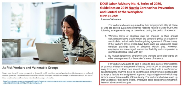 Labor Advisory No. 4