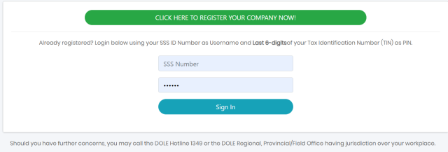 DOLE register